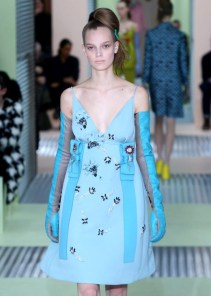 Prada blue: May be influenced by Cinderella movie.